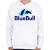 PRINTFASHION BlueBull - Gyerek kapucnis pulóver - Fehér