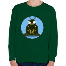 PRINTFASHION BoB - Gyerek pulóver - Sötétzöld