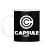 PRINTFASHION Capsule Corp - Bögre - Fekete