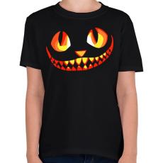 PRINTFASHION Cat - Gyerek póló - Fekete