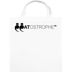PRINTFASHION CATostrophe - Vászontáska - Fehér
