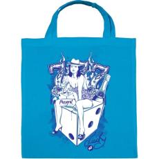 PRINTFASHION Cica - Vászontáska - Kék