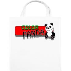 PRINTFASHION Color panda android game - Vászontáska - Fehér