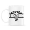 PRINTFASHION Combat Medic - Bögre - Fehér