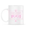 PRINTFASHION csillag-1991-pink - Bögre - Fehér