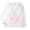 PRINTFASHION csillag-2011-pink - Sportzsák, Tornazsák - Fehér
