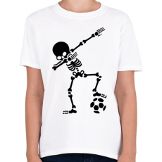PRINTFASHION Dabbing foci - Gyerek póló - Fehér