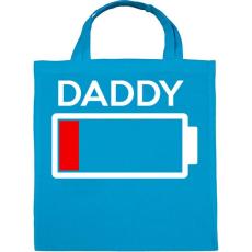 PRINTFASHION DADDY2.png - Vászontáska - Kék