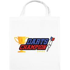 PRINTFASHION Darts bajnok - Vászontáska - Fehér