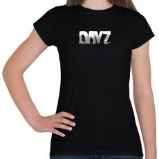 PRINTFASHION Dayz - Női póló - Fekete