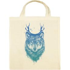 PRINTFASHION Deer wolf - Vászontáska - Natúr