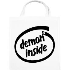PRINTFASHION Demon Inside - Vászontáska - Fehér