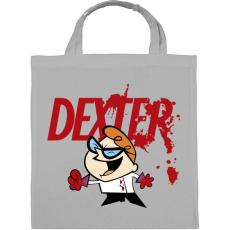 PRINTFASHION Dexter laboratóriuma? - Vászontáska - Szürke