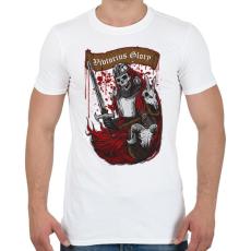 PRINTFASHION Dicsőséges győzelem - Férfi póló - Fehér