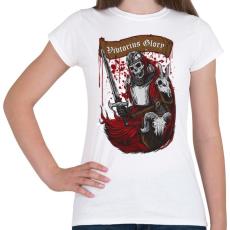 PRINTFASHION Dicsőséges győzelem - Női póló - Fehér