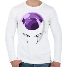 PRINTFASHION Dragonball - Férfi hosszú ujjú póló - Fehér