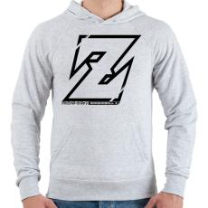 PRINTFASHION Dragonball Z - Férfi kapucnis pulóver - Sport szürke