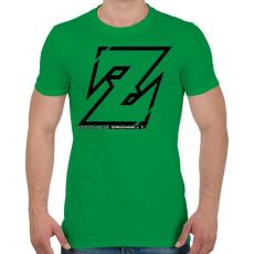 PRINTFASHION Dragonball Z - Férfi póló - Zöld