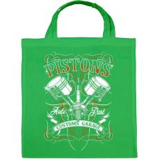 PRINTFASHION Dugattyúk - Vászontáska - Zöld