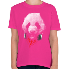PRINTFASHION Elegáns panda  - Gyerek póló - Helikónia