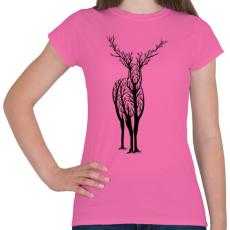 PRINTFASHION Élővilág - Női póló - Rózsaszín