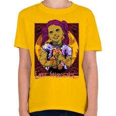 PRINTFASHION Elveszett ártatlanság - Gyerek póló - Sárga
