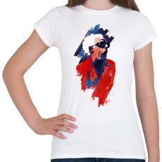 PRINTFASHION Emett Doc - Női póló - Fehér