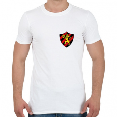PRINTFASHION Escudo Logo - Férfi póló - Fehér