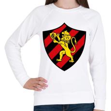 PRINTFASHION Escudo Logo - Női pulóver - Fehér