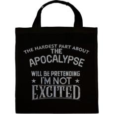 PRINTFASHION Exciting apocalypse - Vászontáska - Fekete