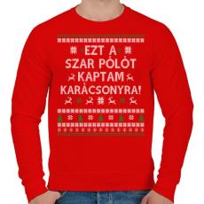 PRINTFASHION Ezt a SZ@R pólót... - Férfi pulóver - Piros