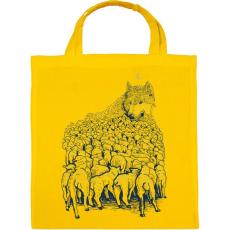 PRINTFASHION Farkashegy - Vászontáska - Sárga