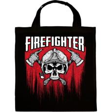 PRINTFASHION Firefighter - Vászontáska - Fekete