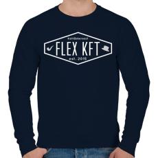 PRINTFASHION FlexKft est. 2015 - Férfi pulóver - Sötétkék