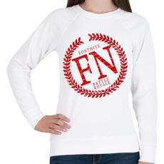PRINTFASHION FN Battle Royale - Női pulóver - Fehér