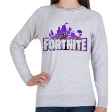 PRINTFASHION Fortnite #1 - Női pulóver - Sport szürke