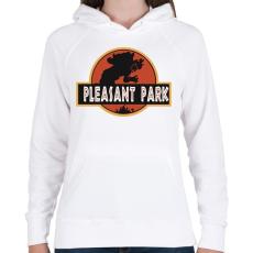 PRINTFASHION Fortnite Pleasant Park - Női kapucnis pulóver - Fehér