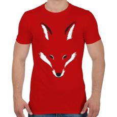 PRINTFASHION Foxy shape - Férfi póló - Piros