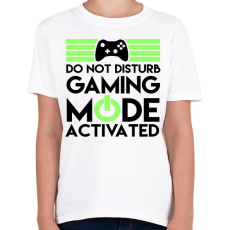 PRINTFASHION Gaming - Gyerek póló - Fehér