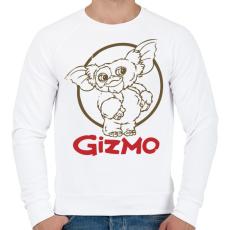 PRINTFASHION Gizmo - Férfi pulóver - Fehér