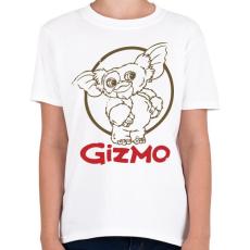 PRINTFASHION Gizmo - Gyerek póló - Fehér