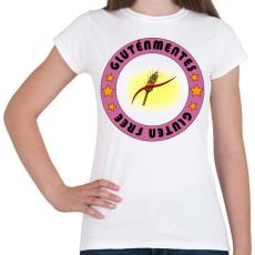 PRINTFASHION Gluten free 4 - Női póló - Fehér