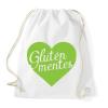 PRINTFASHION gluten-free-love-green - Sportzsák, Tornazsák - Fehér