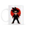 PRINTFASHION Goku - Ügynök - Bögre - Fehér