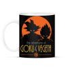 PRINTFASHION GOKU / VEGETA - Bögre - Fekete