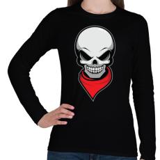 PRINTFASHION Gyilkos bandita - Női hosszú ujjú póló - Fekete