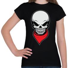 PRINTFASHION Gyilkos bandita - Női póló - Fekete