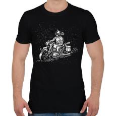 PRINTFASHION Háborúból hazafelé - Férfi póló - Fekete