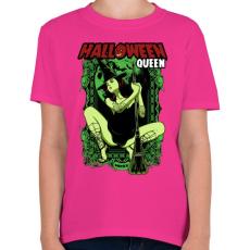 PRINTFASHION Halloween királynő - Gyerek póló - Helikónia