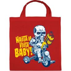PRINTFASHION Hasta la vista baby! - Vászontáska - Piros